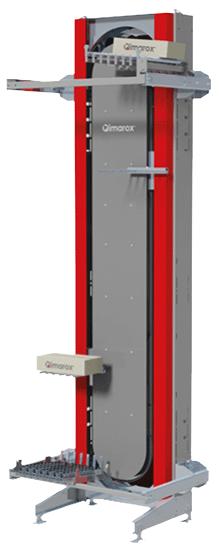 Vertical lift machine